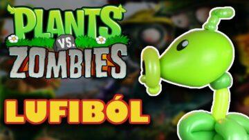 Plants vs. Zombies – Peashooter lufiból és érdekességek! – Lufihajtogatás – Gergő Lufis Világa