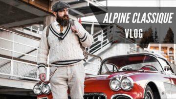 IDŐUTAZÁS a két világháború között – Ilyen az Alpine Classique VETERÁN AUTÓs hétvége VLOG