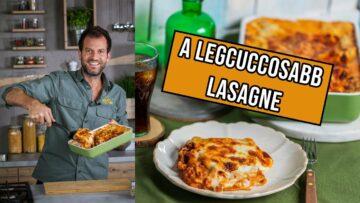 Itt a legcuccosabb lasagne a világon!