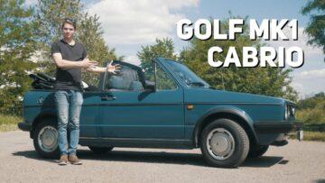 VW Golf MK1 Cabrio teszt – a legaranyosabb Golf!