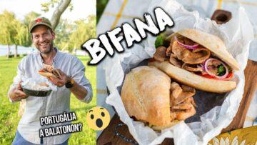 Bifana, a portugálok egyik legjobb kajája