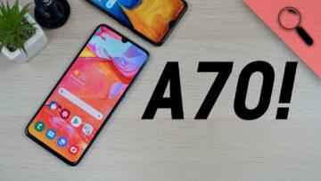 ITT van és tarol! | Samsung Galaxy A70 teszt