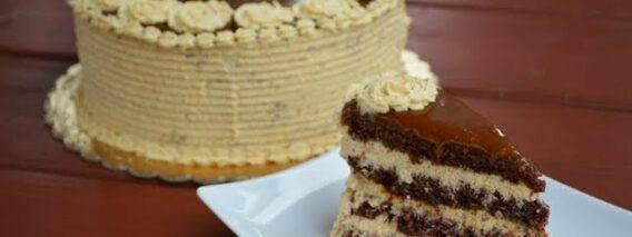 Karamelltorta elkészítése recepttel – Sütik Birodalma